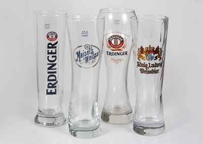 Weizenbier Gläser