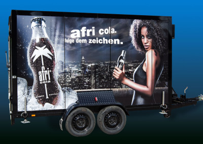 Afri Cola Kühlwagen