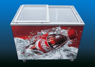 Kühltruhe Coca-Cola