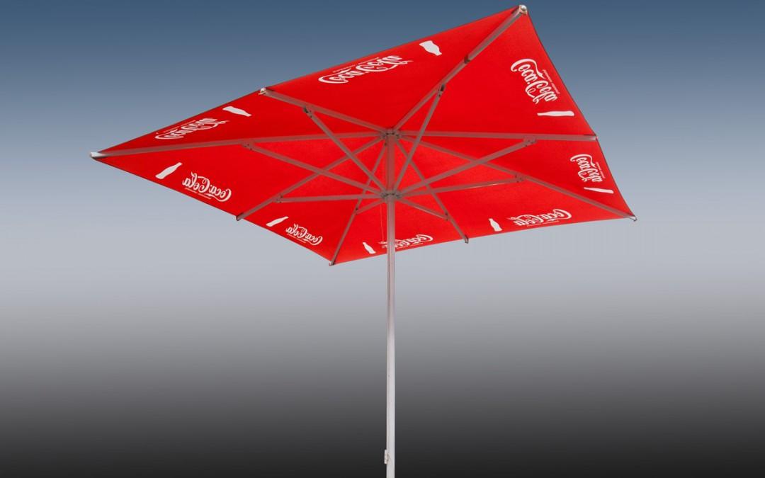 Sonnenschirm Coca-Cola