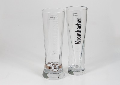 Warsteiner Krombacher Gläser