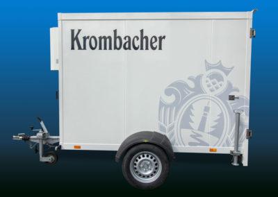 Krombacher Kühlwagen